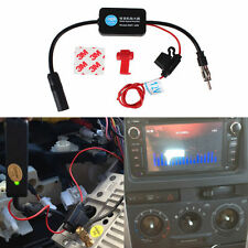 Auto Car 12V Antenna Radio Signal Booster AMP Amplifier Strengthen ANT-208 New