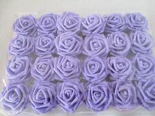 """50pcs 3.2"""" Foam Roses Artificial Flower Wedding Bridal Bouquet Party Decor DIY"""