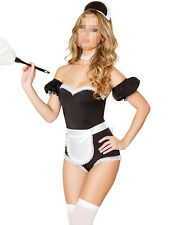 Darling Sexy Hen Party Role Play Fancy Dress Cosplay Women French Maid Costume