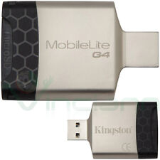 Lettore scheda memoria USB 3.0 MicroSD micro sd KINGSTON memory card reader