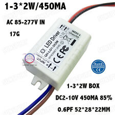 5PCS AC85-277V 5W LED Driver 1-3x2W 430mA DC2-11V Constant Current Power Supply