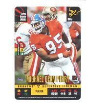 1995 Donruss Red Zone MICHAEL DEAN PERRY Denver Broncos Update Card