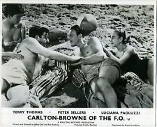CARLTON-BROWNE OF THE F.O. 1959 Peter Sellers, Terry-Thomas 10x8 LOBBY CARD SET
