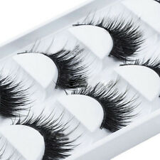 5 Pairs Handmade Natural Long Thick Makeup False Eyelashes Eye Lashes Extension