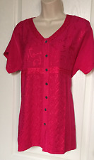 """Medium Women's Tunic Blouse Top  Bust Size 40"""" round Embroidered New"""