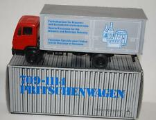 NZG 1:50 - MERCEDES 709-1114 BOX VAN - BREWERY / BEVERAGE INDUSTRY PROMO  #250