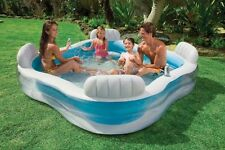 INTEX Inflatable Pool Family Swim Centre Lounge Pool