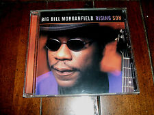 Big Bill Morganfield - Rising Son 1999 Blind Pig Blues CD Muddy Waters Son NM