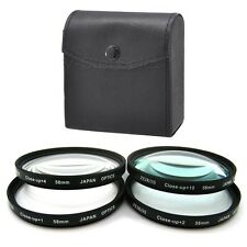 58mm Macro Close-Up +1 +2 +4 +10 Filter Kit for Olympus Evolt E-450, E-420, E-41