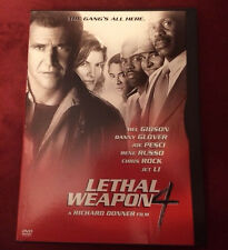 Used Lethal Weapon 4 (DVD, 1998)