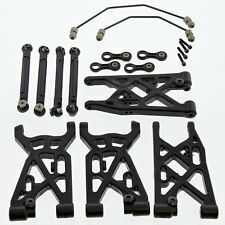 Team Losi 8ight Nitro Buggy 1/8: Front & Rear Suspension Arms & Sway Bars