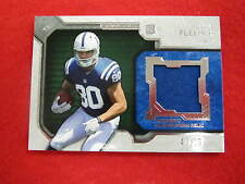 2012 Strata Coby Fleener jersey patch football card Colts RC   #ed 47 of 65  jsy