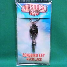 Bioshock Infinite Songbird Cage Key Necklace Pendent & Chain Officially Licensed