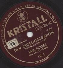 Emil Roosz und sein Orchester vom Hotel Adlon : Der Zigeunerbaron