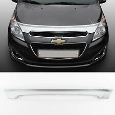 Chrome Front Hood Guard Garnish Tuning Molding 1p For 2011 2012 CHEVROLET SPARK