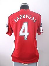 Cesc FABREGAS #4 Arsenal Home Football Shirt Jersey 2008-2010 (M)