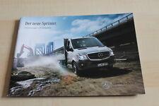 129009) Mercedes Sprinter Pritsche + Fahrgestelle Prospekt 03/2013