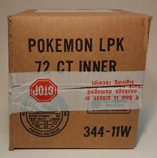 Factory Sealed Pokemon Unlimited English Base Set Long Booster Pack Box 72 Packs