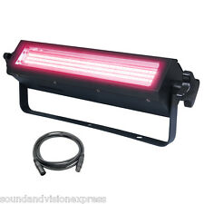 Kam ALLUVIONE Bank 1 Bright RGB LED luce club dj Colore Wash + STROBO + Lead DMX
