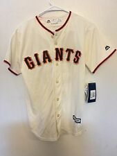 New Authentic Majestic Youth Size Large San Francisco Giants Tim Lincecum Jersey