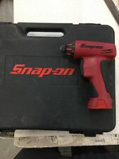 Snap On Tools Cordless ScrewDriver  CTSU561CLR 2 Batteries 7.2v Boxed Imperial