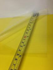 """CLEAR PET/PC BLEND THERMOFORMING PLASTIC SHEET 0.010"""" X 8.5"""" X26""""  BPA FREE"""