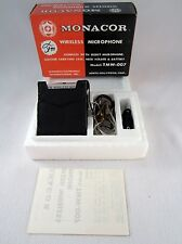Vintage Monacor FM Wireless Microphone TMW-007 - Used Once - Original Box