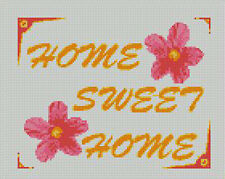 "Home Sweet Home Counted Cross Stitch Kit 10"" x 7.75"" 25cm x 20cm S2228"