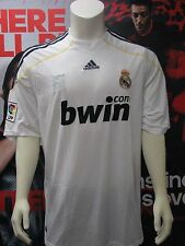 Adidas Real Madrid 2009 - 2010 Home Jersey White Adult XL NWT