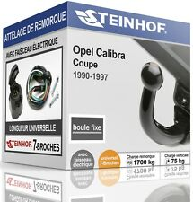 ATTELAGE fixe OPEL CALIBRA 1990-1997 + FAISC.UNIV.7 broches COMPLET