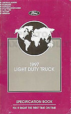 1997 Ford Pickup Truck Service Specs Manual F150 F250 Expedition Ranger Explorer