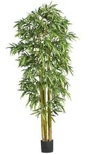 Nearly Natural 5191 Big Bamboo Silk Tree- 7-Feet- Green NEW