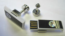 USB slider cufflinks (detachable)  2GB Black