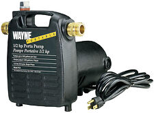 WAYNE PC4 1/2 HP 115 Volt, Steel Made Electric POWER WATER Transfer PUMP