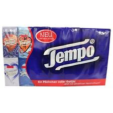 Tempo Taschentucher Facial Tissues 42pc. x 10 Tissues