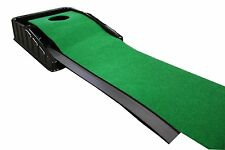Automatic Golf Putting System Club Champ Return Ball Indoor Practice 7 Green Mat