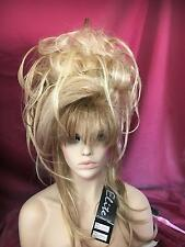 SIN CITY WIG BIG MESSY SEXY UPDO LONG PIECES TENDRILS FULL CURLS GOLDEN BLONDE