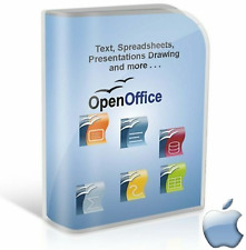Open OFFICE 2017 PRO Edition Word Processor for Apple Mac (Digital Download)