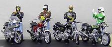 Joe BAR equipo * Ducati Honda + + Kawasaki + Norton + 4 figuras * solido 1:18 _