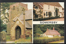 Lincolnshire Postcard - Views of Somersby   BH6324