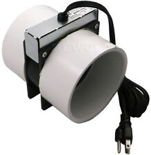 PVC4 Radon Mitigation System Booster Fan