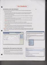 My Accounting Lab Print Offer For Financial Accounting 10th Ed 2015 NEW (E1-83)