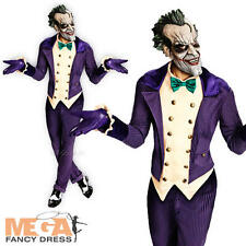 Deluxe le joker HALLOWEEN ROBE FANTAISIE HOMME Batman COSTUME ADULTE TENUE + masque