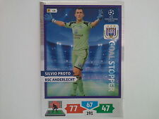 PANINI ADRENALYN XL CHAMPIONS LEAGUE 2013 2014 - PROTO ANDERLECHT GOAL STOPPER