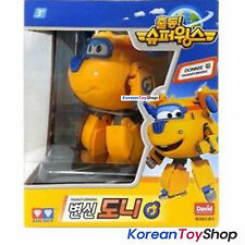 Super Wings DONNIE Transformer Robot Toy Airplane Plane Korean Animation