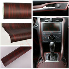 "12""x48"" 1ft x 4ft Wood Textured Grain Vehicles Interior Vinyl Wrap Sticker Decal"