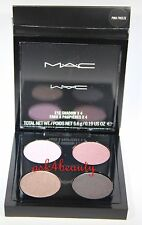 Mac Eye Shadow x 4 (Pink Freeze) Quad Palette 0.19 oz/5.6g Nib