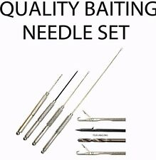 Quality Stanless Steel Baiting Needle Set - Coarse Carp Sea Fishing Tackle
