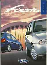 FORD FIESTA ENCORE, ZETEC, ZETEC LX  & GHIA SALES BROCHURE OCTOBER 1998 FOR 1999