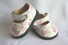 Reborn Doll 84mm Blossom Flowered Shoes - REBORN SUPPLIES